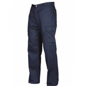 Pantalón Cargo Gabardina Azul